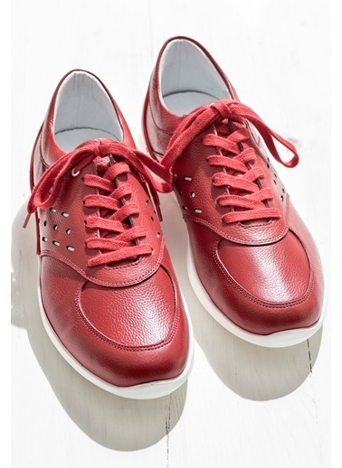 Elle Sneakers Kırmızı
